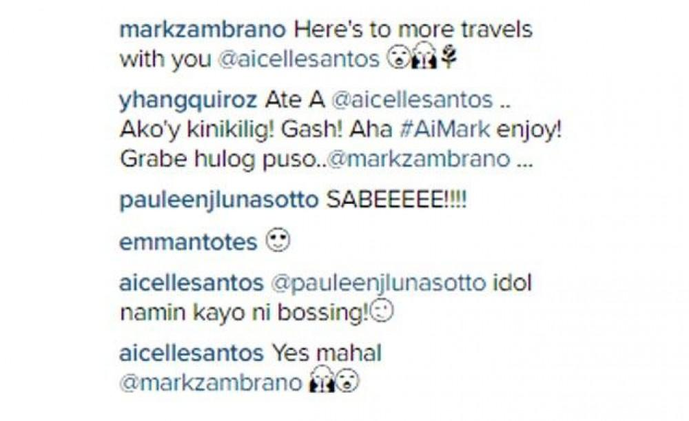 Aicelle Santos goes on vacation with 'mahal' Mark Zambrano ...