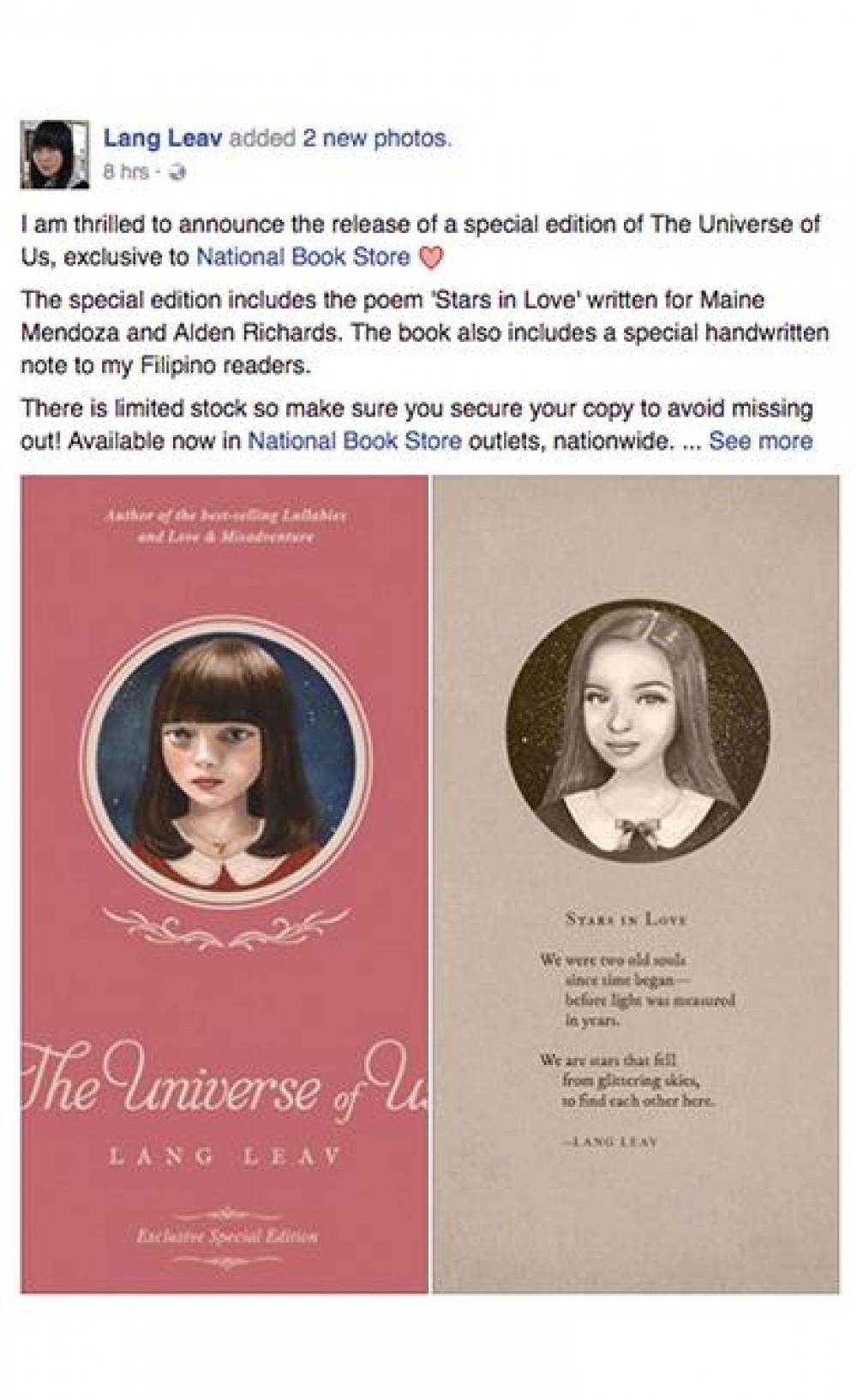 lang leav poems