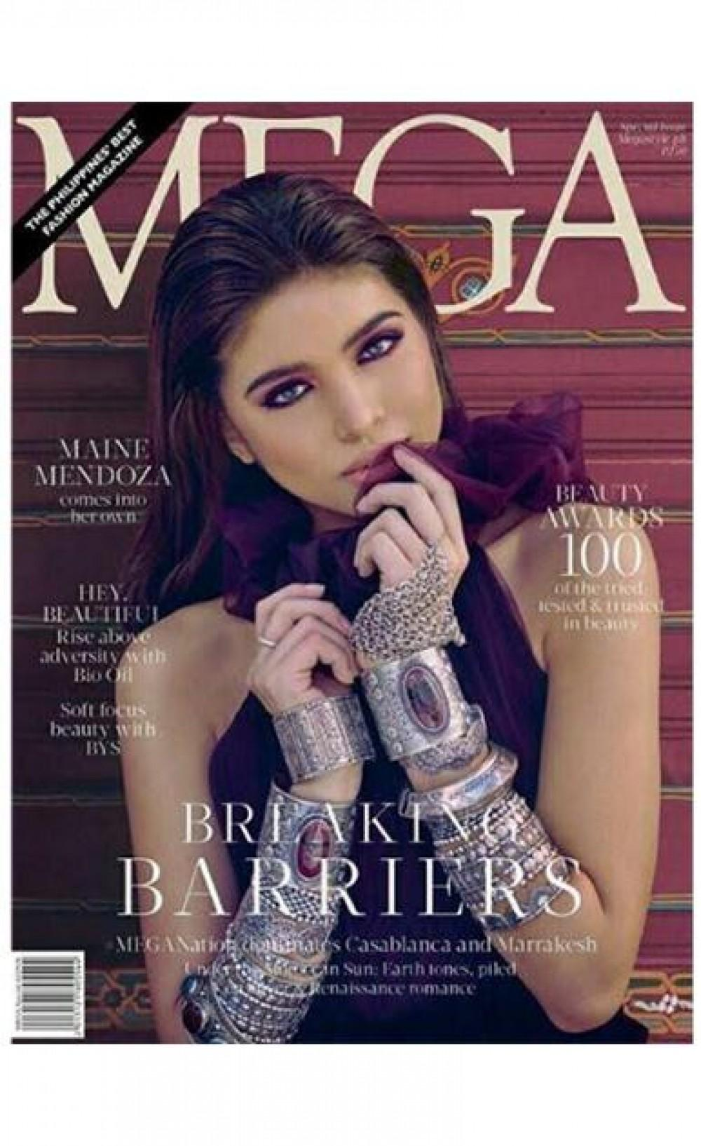Look Enchanting Cover Of Aldub For A Fashion Magazine Out This October Showbiz News Gma