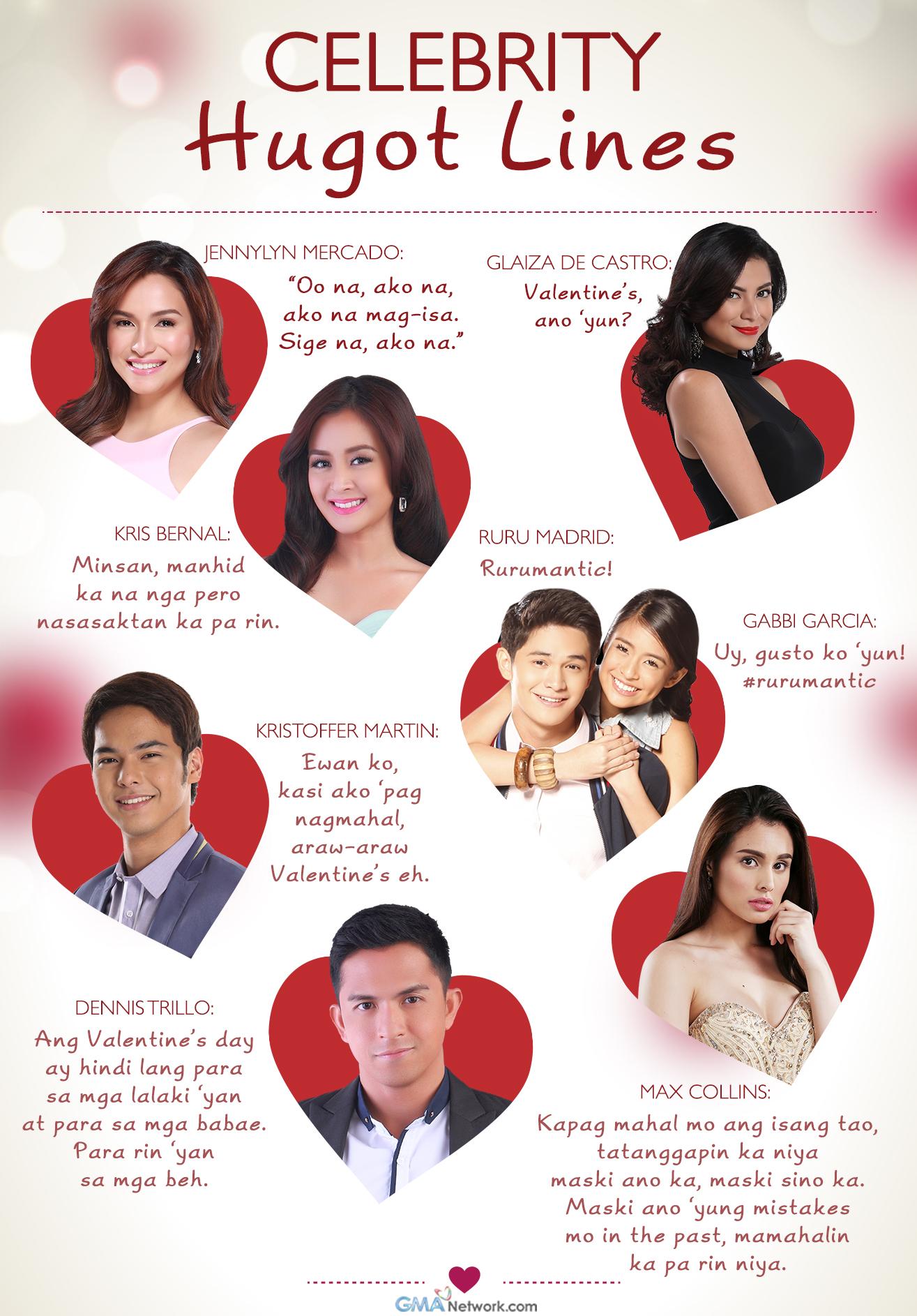Celebrity Hugot Lines   Showbiz News   GMA Entertainment