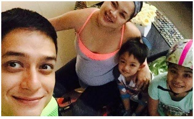Dabarkads Ryan Agoncillo Exercises With His Wife Judy Ann Santos Who Is In Her Third Trimester Of Pregnancy