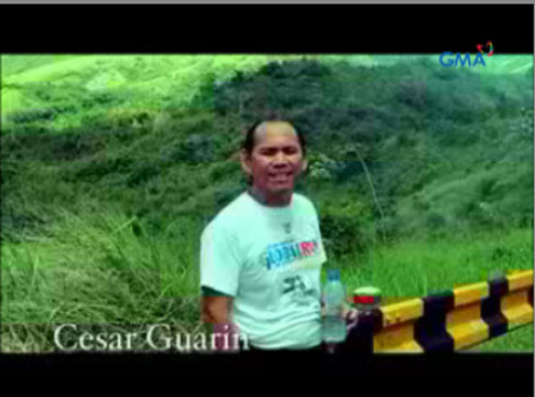 GMA Network supports Pinoy Ultramarathoner Cesar Guarin