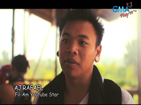 GMA Pinoy TV presents AJ Rafael's visit to the Philippines