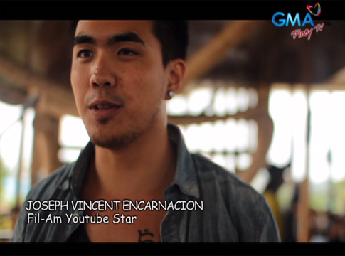 GMA Pinoy TV presents Joseph Vincent's visit to the Philippines