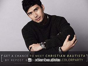 Asia's Romantic Balladeer Christian Bautista is set to conquer the theater stage soon