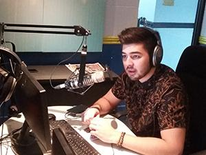Andre Paras spotted in 'Talk To Papa'