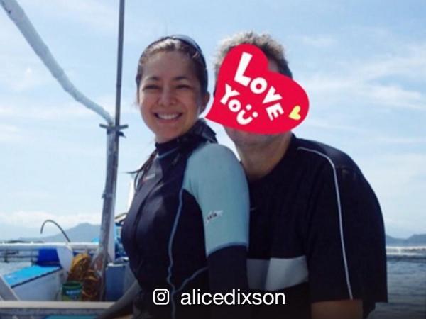 alice dixson dating