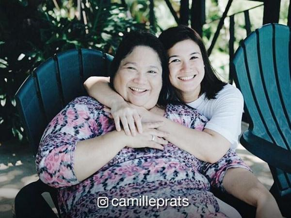 Camille Prats wishes mom \'good health\' and \'less sawsawan\' on her ...