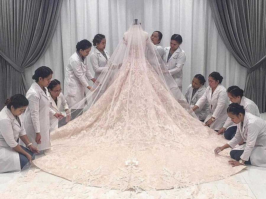 TRIVIA: Details about Dr. Vicki Belo\'s wedding gown that will surely ...
