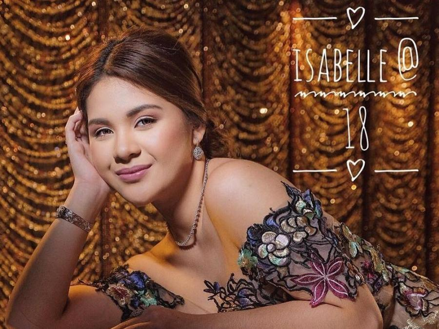 Debutante Isabelle Duterte chooses classic look for her ...