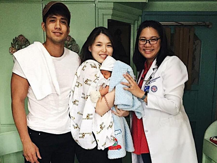 Image result for Kylie Padilla and baby alas
