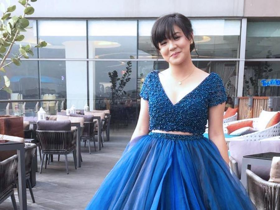 LOOK: Student who received Miss Universe Bulgaria\'s gown attends ...