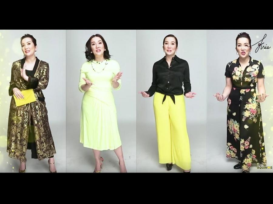 Enchanting Gowns Of Kris Aquino Composition - Images for wedding ...