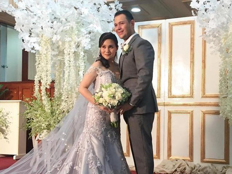 Gladys Reyes And Husband Christopher Roxas Renew Marriage Vows