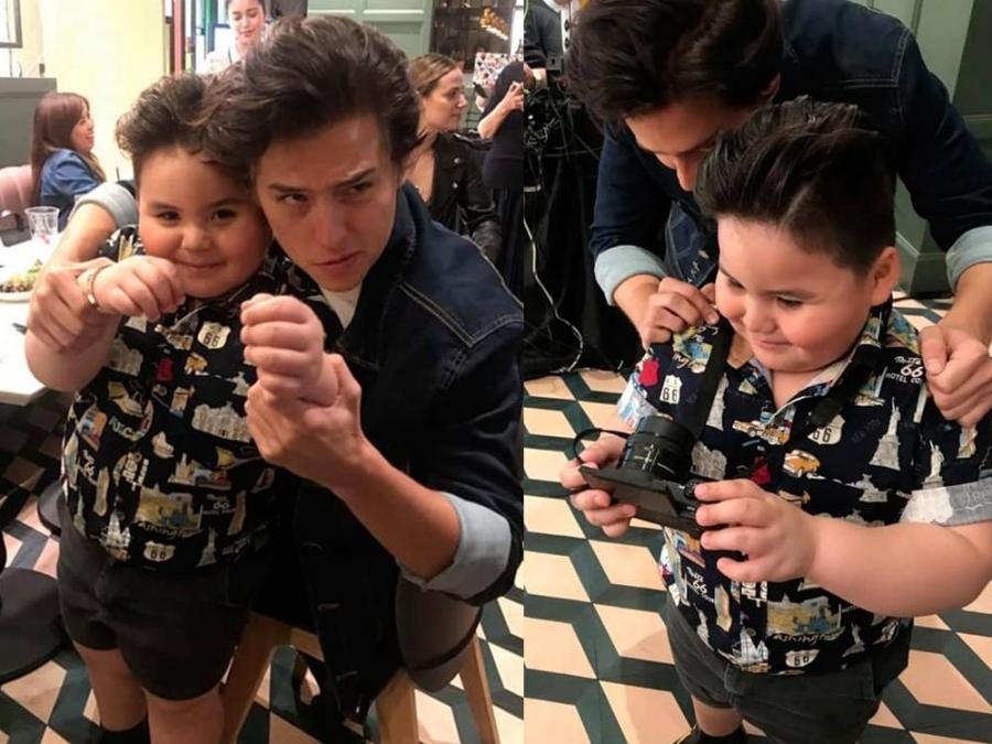 Look cole sprouse takes a selfie with baeby baste showbiz news even american actor cole sprouse couldnt resist baeby bastes cute charms during a fan meeting in manila the riverdale actor met baeby baste and took m4hsunfo