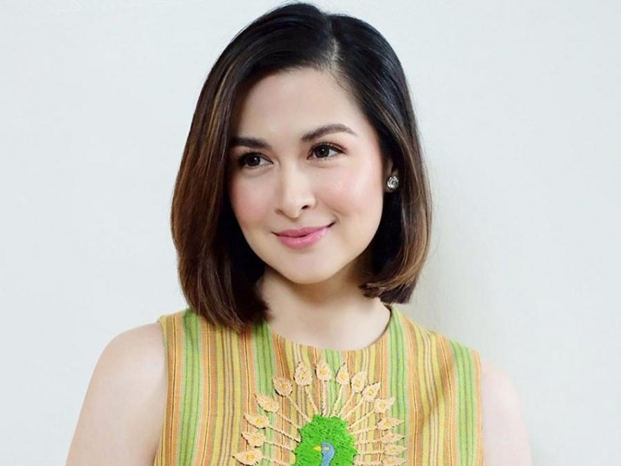 Look Marian Rivera Gets A Short Hairstyle Celebrity Life