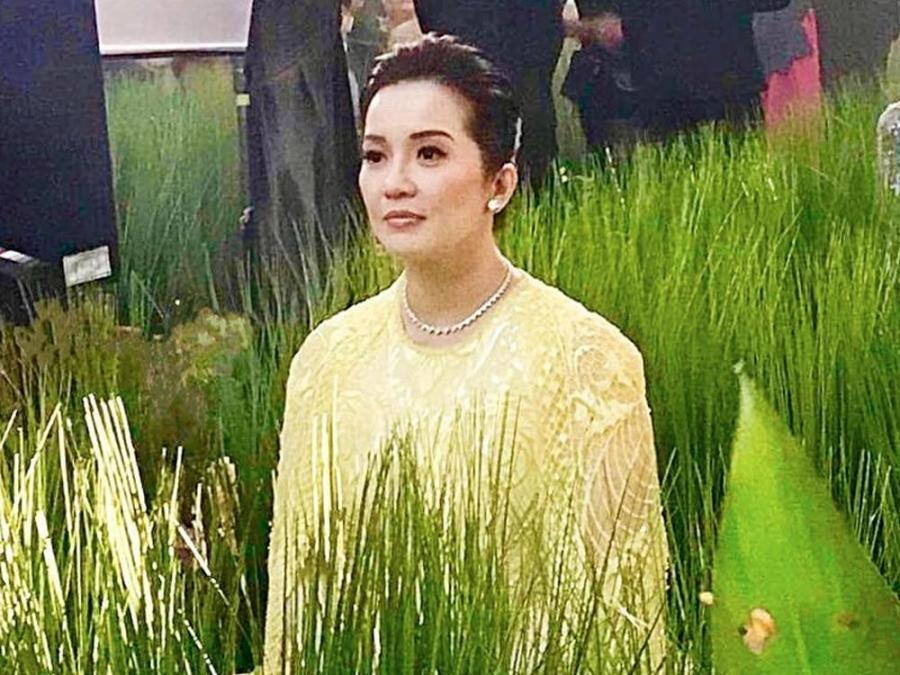 LOOK: Michael Cinco shares Kris Aquino\'s callado-inspired gown in ...