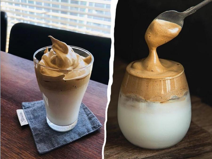 Cara paling mudah nak buat Dalgona Coffee