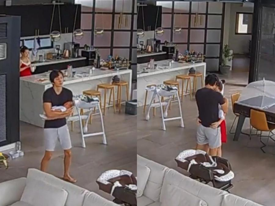 Caught On Video: Slater Young Takes His Baby Scott Knoa Dancing