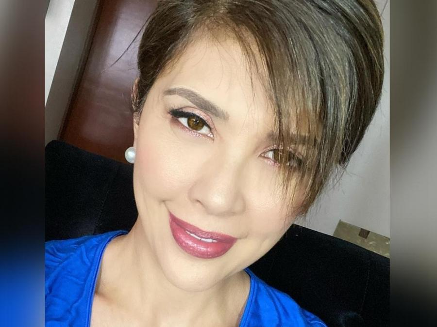 Look Pops Fernandez Sports New Chic Hairstyle