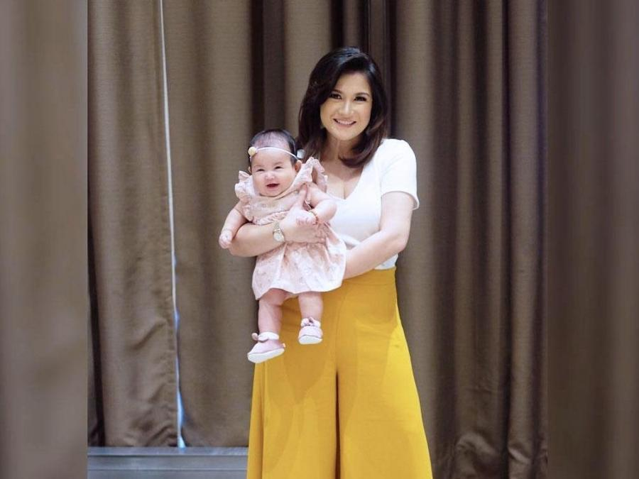 LOOK: Camille Prats\' daughter turns four months old | Celebrity Life ...