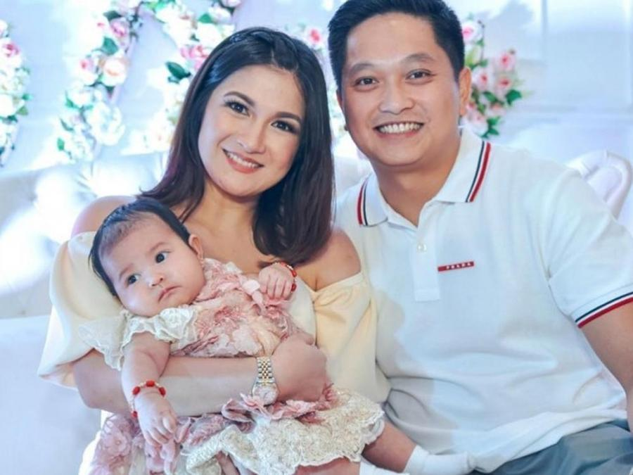Baby Nala wears the same dress Camille Prats wore at her baptism ...