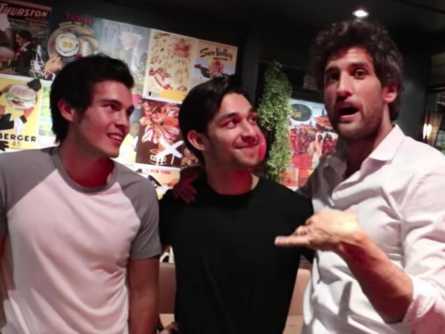 Watch Snippets Of Wil Dasovich S Surprise Party Plus A Kiss From Nico Bolzico And Erwan Heussaff
