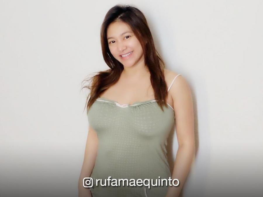 Look Preggy But Sexy Rufa Mae Quinto In A One Piece Swimsuit Showbiz News Gma Entertainment