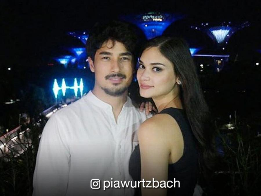 Look Pia Wurtzbach And Marlon Stockinger On A Date Night In Singapore