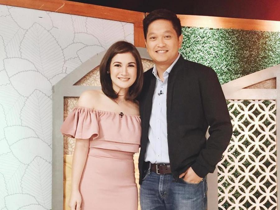 Camille Prats is pregnant with first child with husband VJ