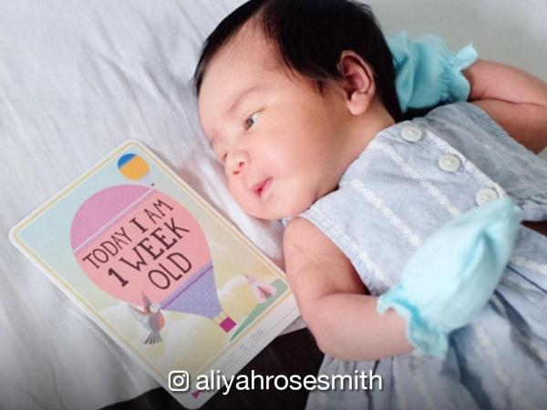 It's been a week since Diana Zubiri shared a photo of her newborn, Aliyah Rose Smith. The original Sang'gre Danaya gave birth on August 14 to a healthy baby ...