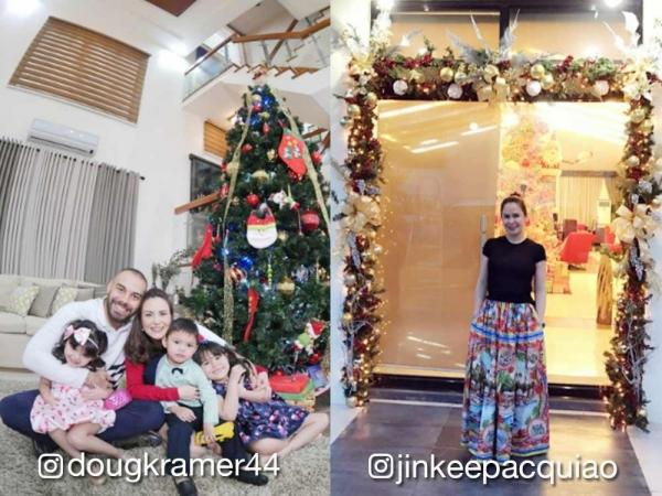 get holiday decoration ideas by checking out the homes of your favorite celebrities in this gallery - Celebrities Christmas Decorated Homes