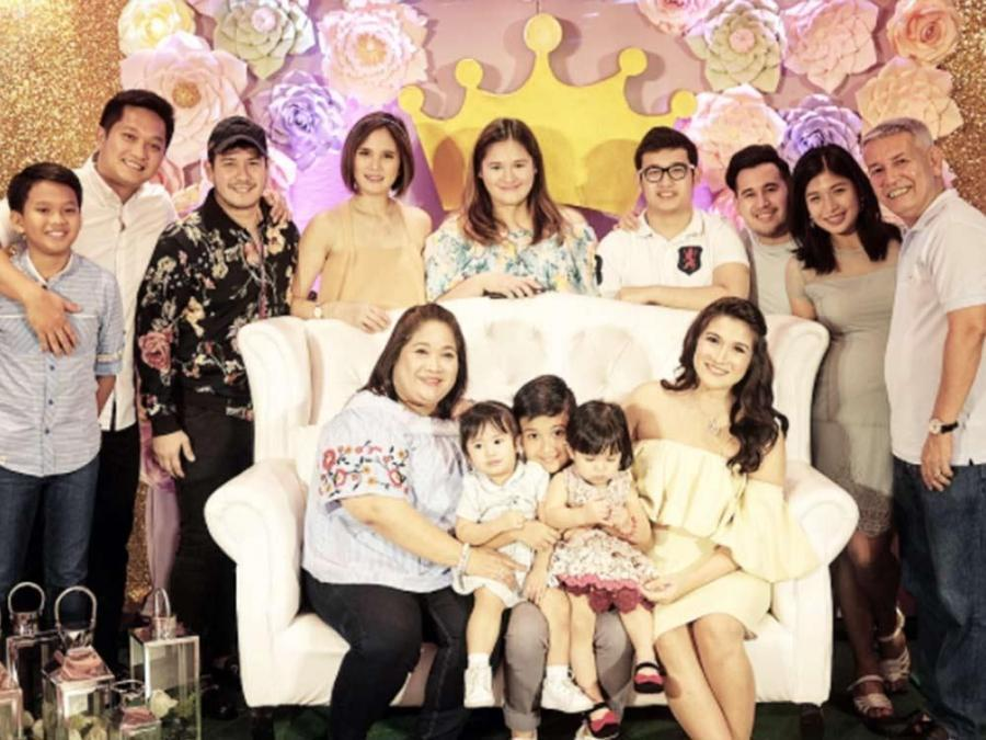 Aprincessiscoming Camille Prats Floral Baby Shower Celebrity