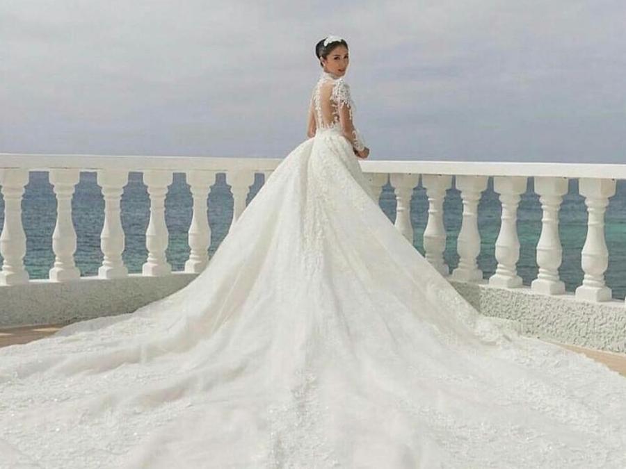 Celebrity wedding gown inspirations   Celebrity Life   GMA ...