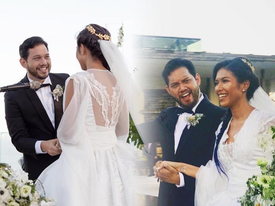 In Photos Quark Henares And Bianca Yuzon S Outdoor Wedding In