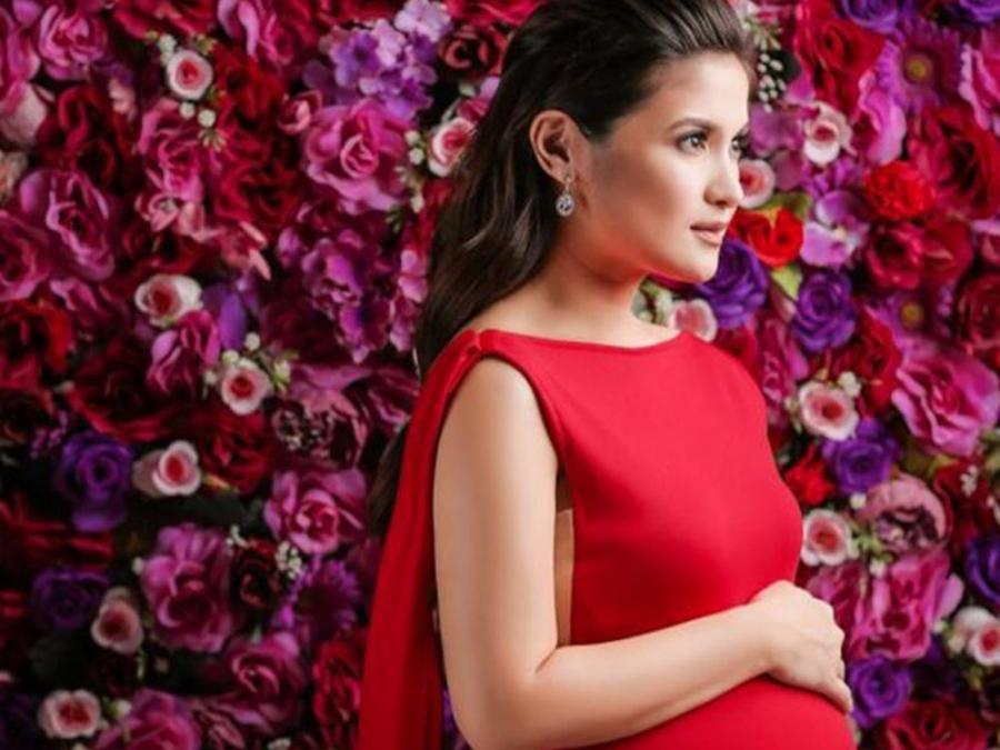 IN PHOTOS: Camille Prats\' sexy and sweet maternity shoot | Celebrity ...
