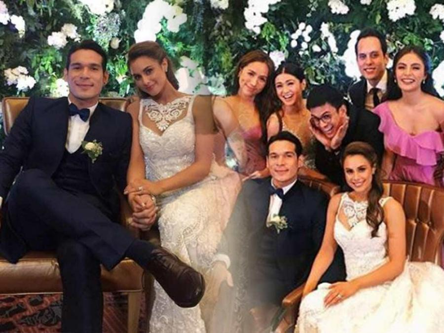 IN PHOTOS: At the reception of Max Collins and Pancho ...