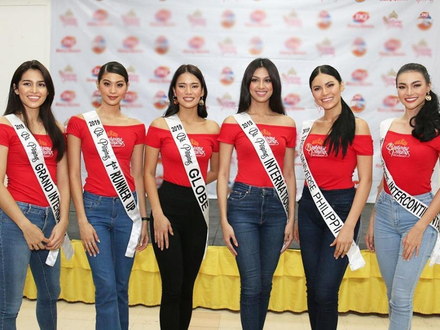 IN PHOTOS: Binibining Pilipinas 2019 Queens spend day with