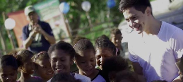 EXCLUSIVE: #AldenGivesBack to the Aeta community