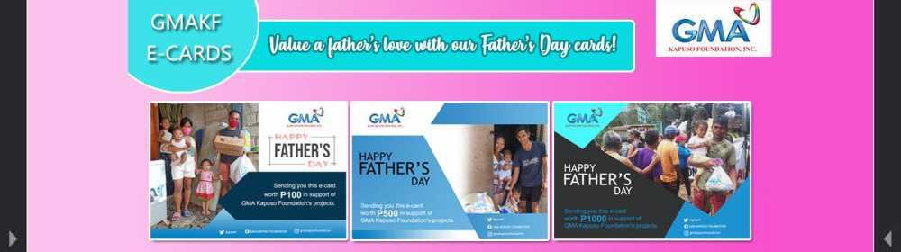 fathers day ecard banner