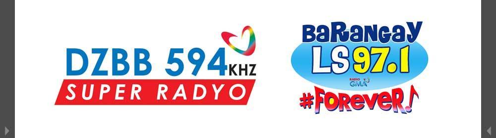 Super Radyo DZBB and Barangay LS
