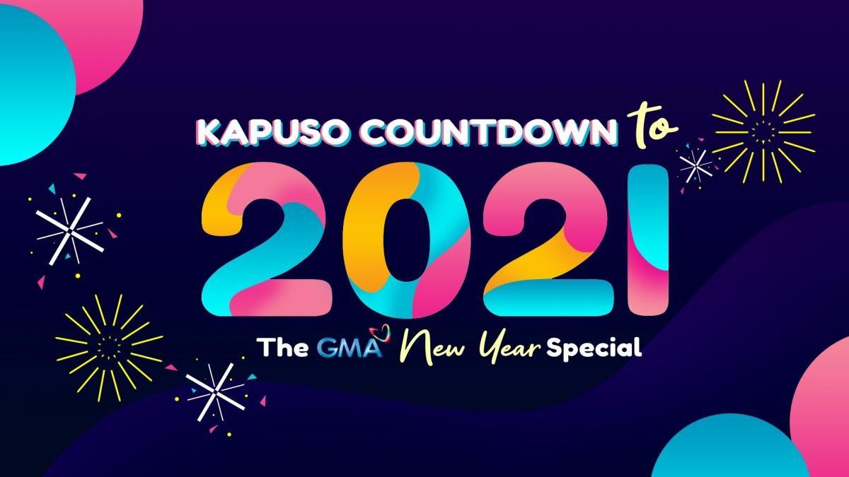 Gma Christmas Show 2021 Kapuso Countdown To 2021 The Gma New Year Special Live
