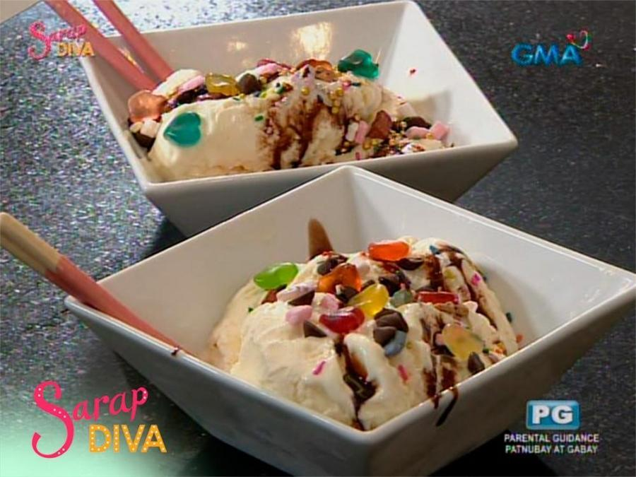 Sarap diva homemade ice cream by jillian ward and caprice cayetano aired february 24 2018 did you know that you can make ice cream in a bag find out how from jillian ward and caprice cayetano in this video ccuart Image collections