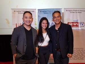 Michael V and Bianca Umali attend another block screening for Family History
