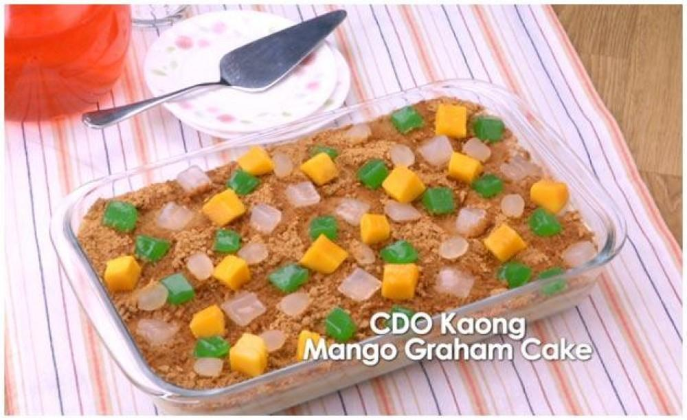 Mango Graham Cake Recipe With Pictures