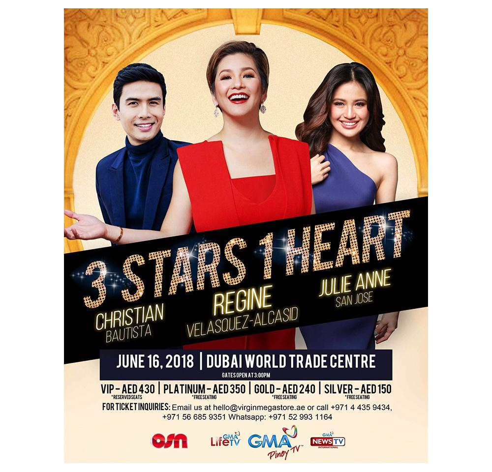 Gma Latest News Update: OSN And GMA Pinoy TV Treat Regine Velasquez Fans Abroad To