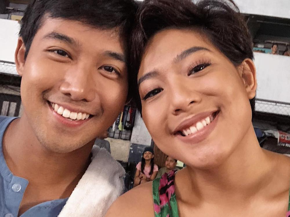 Ken Chan at Rita Daniela