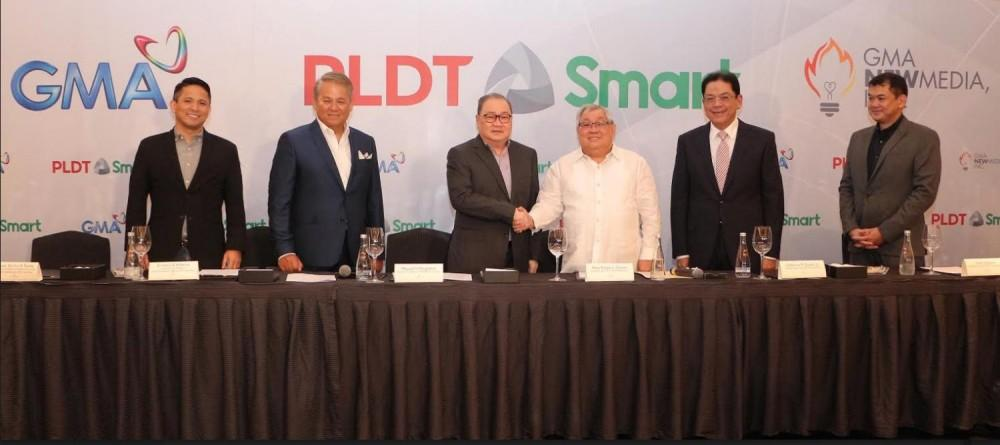 GMA Network, PLDT-Smart