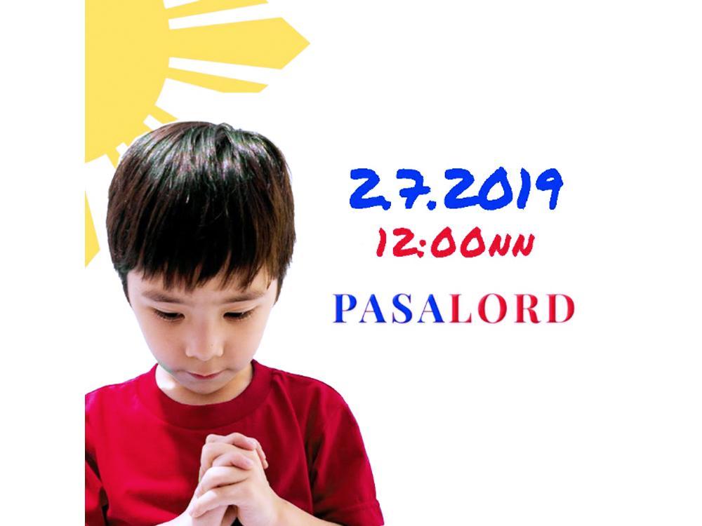 Photo by PasaLordPrayer Movement (FB)