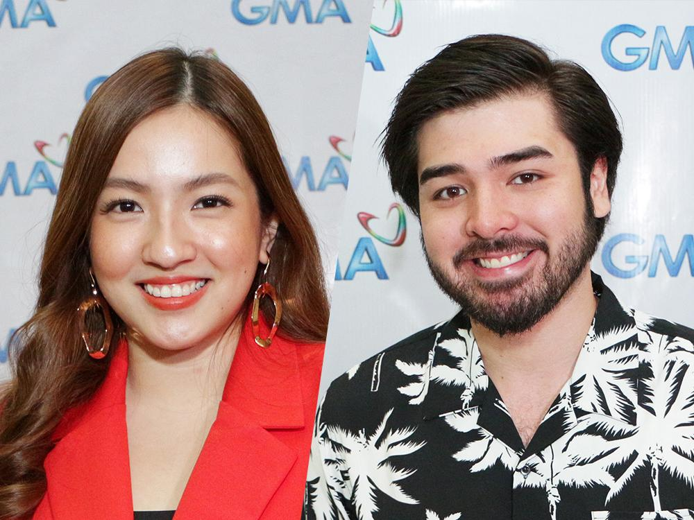 Joyce Ching and Andre Paras